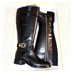 Michael Kors leather boots!